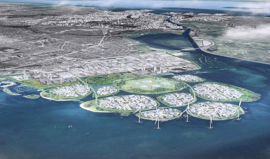 Дания ще построи 9 острова на юг от Копенхаген, произвеждащи възобновяема енергия