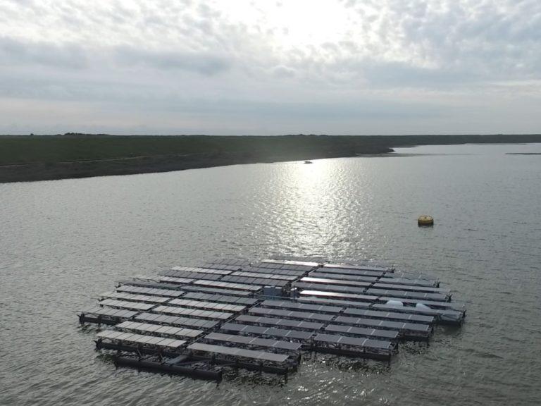 Архипелаг от плаващи соларни острови в Нидерландия
