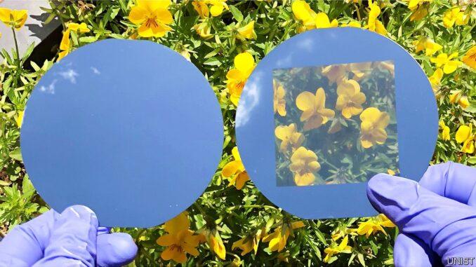 Нова прозрачна соларна клетка за прозорци
