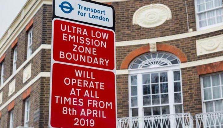 """В Лондон бе въведена """"Зона с ниски емисии"""""""