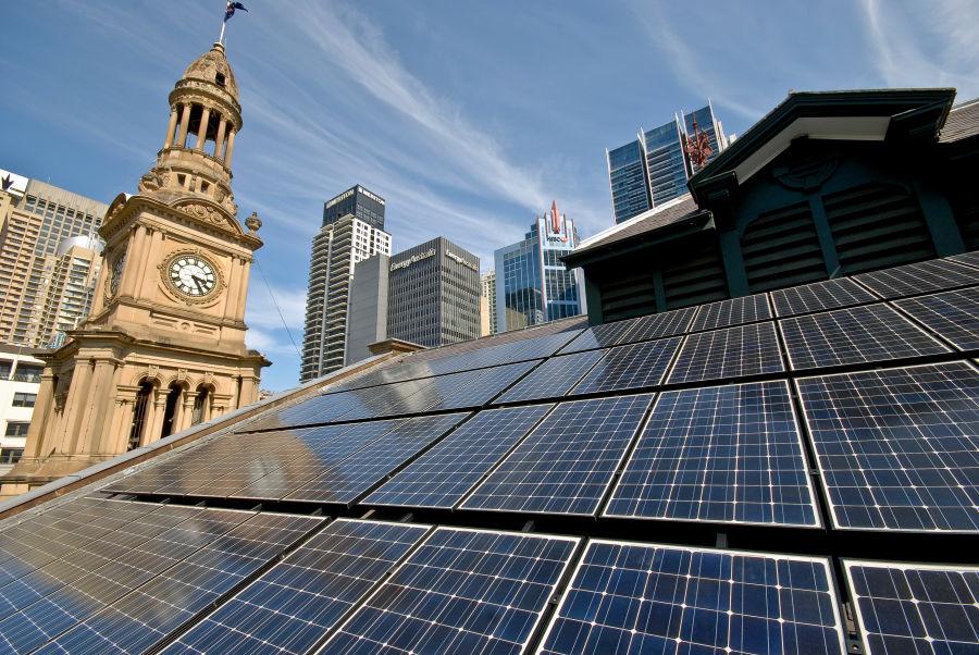 Сидни си постави 100% цел за възобновяема енергия