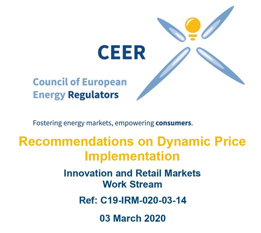 CEER с препоръки при въвеждане на динамично ценообразуване